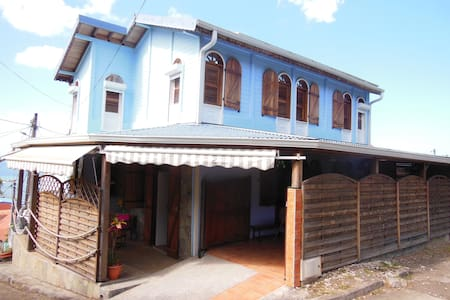 maison située dans un petit village de pecheur - Le Carbet - Ház