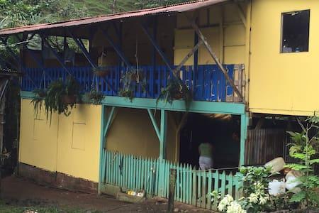 House in rainforest Virgen Sarapiqui, Costa Rica - La Virgen - Dům pro hosty