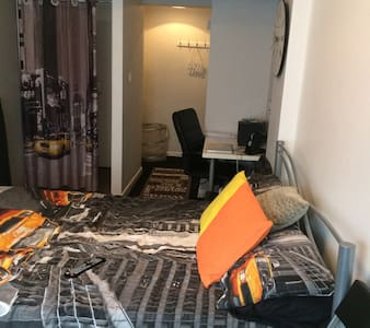 Lovely Double room with shower 2 minute from tube - Byhus