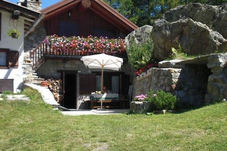 """La marmotta"", uno chalet tipico di montagna - Chalet"