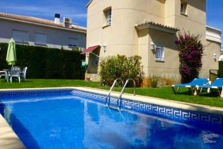 ¡Villa con piscina privada WIFI ! - Oliva - Villa