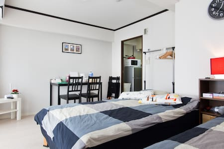 1BR 4pax nr Namba Central TV+WiFi - Apartment