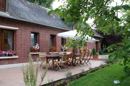 Chambre beige au fil de l'eau - Saint-Germain-sur-Bresle