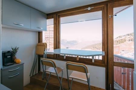 studio vue Mont Blanc, La PLAGNE - Apartmen