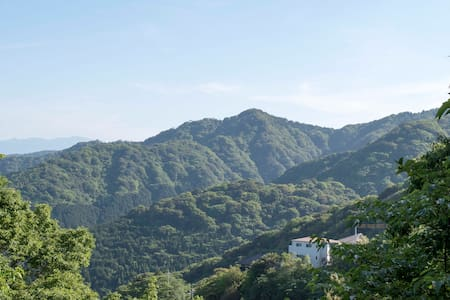 Mountain view cottage, real onsen! - Atami