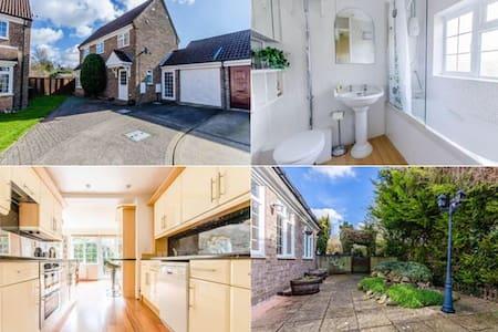 Double Room in Cherry Hinton suburb - Cambridge - Maison
