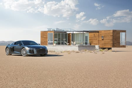 The home of the Audi R8 - Hus