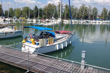 Sailing boat for up to six guests at Keszthely - Keszthely - Boot