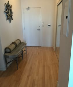 Downtown, Large 1BR+ Lakeview condo - Lägenhet