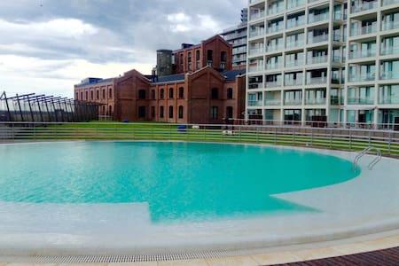 Sunny Loft Forum Puerto Norte Condo Parana river - Rosario