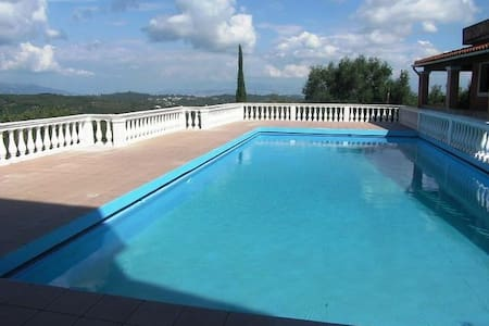 Duplex apartment near village with pool and view - Pelekas