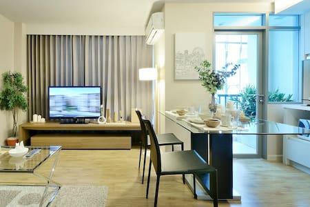 一房一厅套房(不含早)/One Bedroom(Without Breakfast) - Bangkok - Apartment