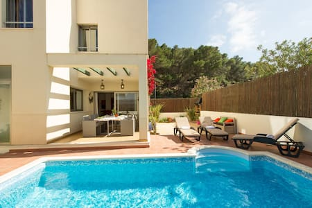 Duplex private pool Ibiza 2-6 WIFI - Haus