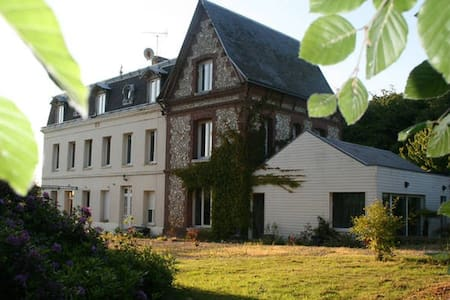 Charmante maison de maître - Saint-Laurent-de-Brèvedent - Hus