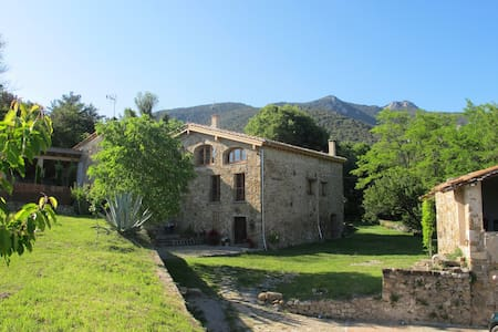 Beautiful stone farmhouse ideal for 2 to 9 guests - Talo