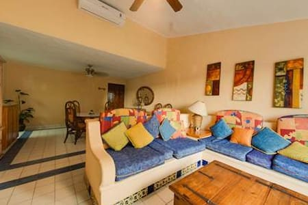 It feels like home - only you are in Mexico!  A few minutes to the beach and access to excellent local restaurants, grocery, massage, tennis, plus much more - all within a few minutes. Tons of space and great location.  We love it here!