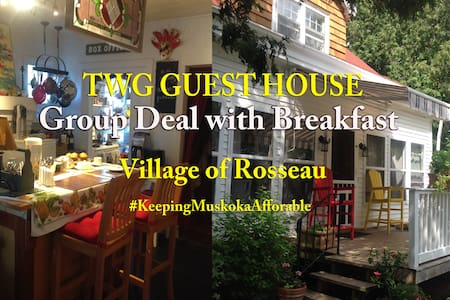 TWG GUEST HOUSE (Rosseau) - Group Package - Rosseau