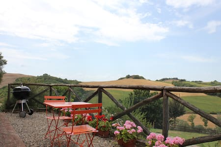 Lovely small apartment in crete senesi - Asciano - Apartment