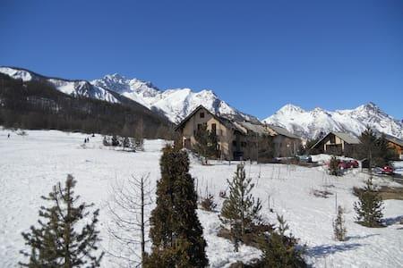 Appart fonctionnel à Serre Chevalier, vue montagne - Le Monêtier-les-Bains - Daire