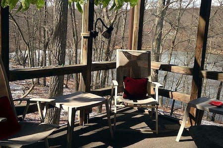 Cozy 4BR WATERFRONT-PoconoAdventure! - East Stroudsburg - House