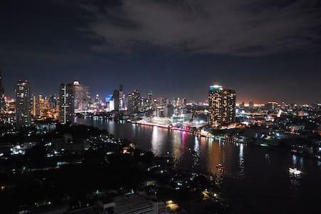 RiverviewStudioBR+nearCBD, BTS+Wifi - Bangkok