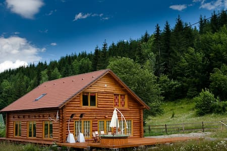 Magical log cabin in Dracula land! - Chalet