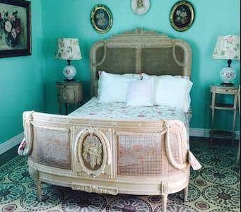 Encantadora habitación porfiriana. - Tlacotalpan - Bed & Breakfast