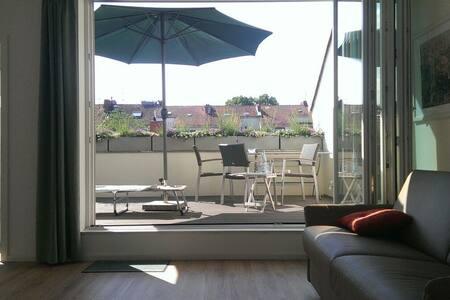 Helles Apartment mit Dachterrasse - Bremen - Loft