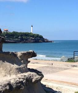 T2 belle vue océan, proche plage