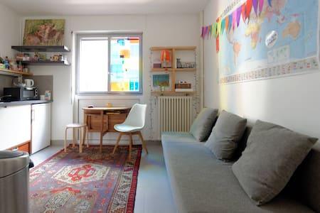 Studio near Luxembourg gardens