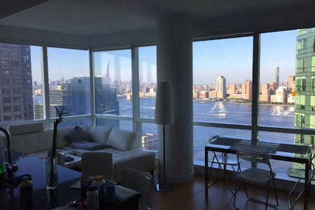 Luxury rental with amazing view over manhattan - Jersey City - Condominio