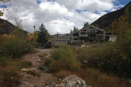 On Clear Creek in Beautiful Georgetown, Colorado - Georgetown - Σαλέ