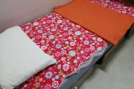 -our house is located in the main drag of gangnam area  (plastic surgery,foreign language school,IT company) -our room is tiny but clean,cozy n safe -our house is conveniently located just minutes from metro station(line#2,#9) n bus station,