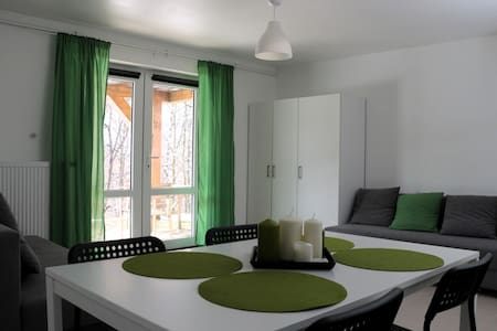 Private room-mountains,forest,river - Casa