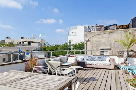Gorgeous Rooftop Apartment @ the heart of Tel Aviv - Tel Aviv-Yafo - Loft