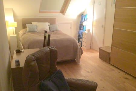 Spacious, comfortable double room & lovely garden - House