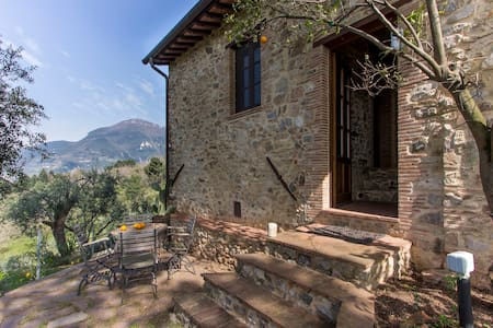 Lovely stone house with sea view - Camaiore - House