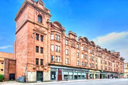 Room in city centre listed building - Glasgow - Apartment