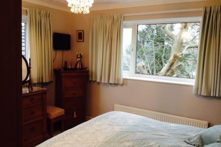 Double bedroom in family home. - Bed & Breakfast