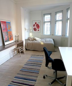 Charming, light, quiet and central - Frederiksberg - Apartment