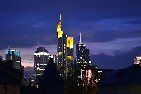 Skylineview old town appartment direct 2 Main&city - Frankfurt am Main - Pis