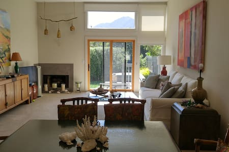 Beautiful quiet home w/ backyard and Mt. Tam view - Casa