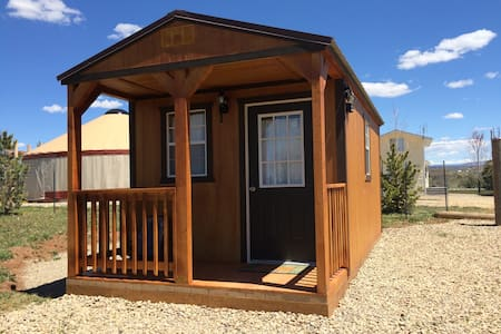"The Jolly Rancher-""Hoss""tel cabin - Cortez - Zomerhuis/Cottage"