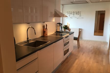 Room in apartment with access to wellness (no 1) - Hillerød - Casa de camp