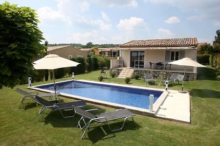 LuberonVilla avec piscine chauffée - Forcalquier