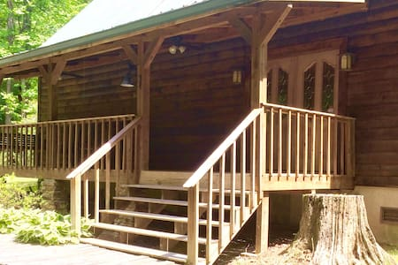 GORGEOUS LOG CABIN ON FIVE ACRES - Cabin