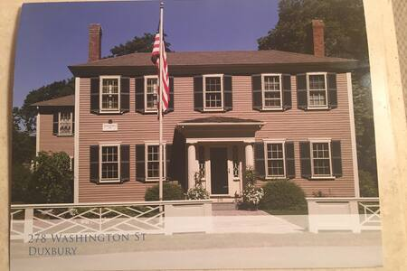 A beautiful historic home - Duxbury - Dom