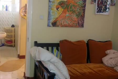A unique artist environment. Karibu - Appartement