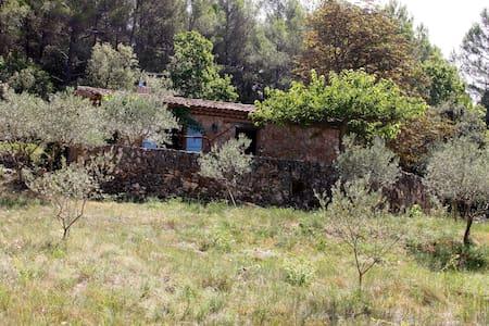 cabanon provencal en pierre - Hus