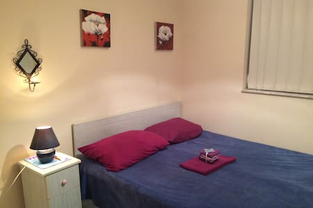 cozy&central double bedroom+wi-fi - Huoneisto